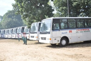 Kano Buses, in support of Girl-child Education